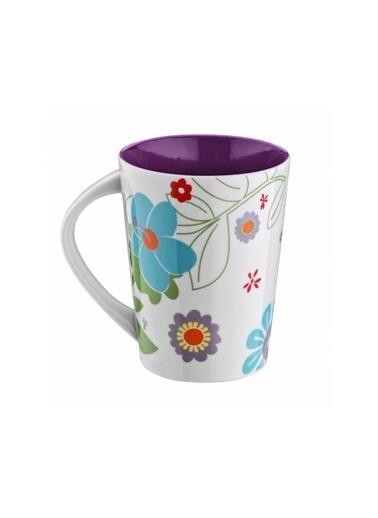 Kütahya Porselen 6028 Dekor Mug Bardak Mor Mor